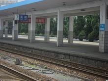 蕪湖(うーふー)駅に到着