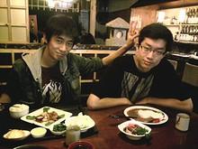周くんとその友達と一緒に日本料理店へ