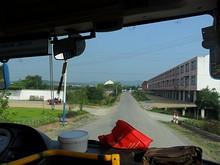 バスで宣城市街へ帰る