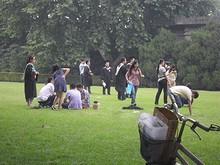 南京農業大学の卒業風景
