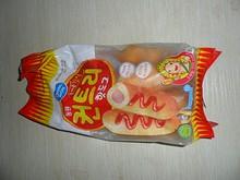 韓国スーパーで買った冷凍ホットドッグ