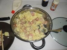 再びポテサラを作って食べる