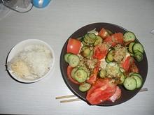 サラダを作ってみた