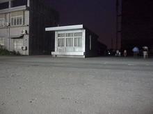 夜の上坊バス停