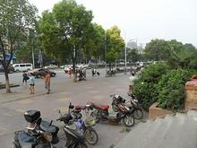 海福巷西站バス停