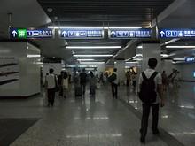 地下鉄南京南駅