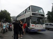 南京唯一(?)の二階建てバス路線105番