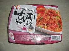 韓国スーパーで買ってみた冷凍ポックンパプ(チャーハン)