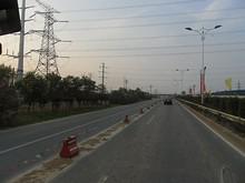 東南大学付近の送電線