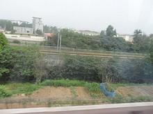 地下鉄から見た高速鉄道