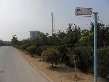 中建安装バス停
