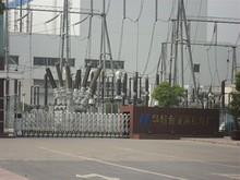 華能金陵燃機発電所の門