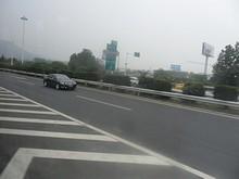G42高速 294番 G36「南京第三大橋方面」とG42「南京禄口空港方面」の分岐
