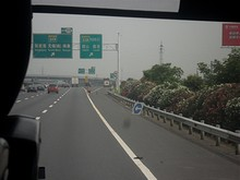 G42高速 115番 S19「張江港、無錫(南)方面」への分岐