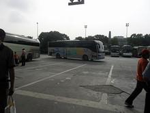 南京から乗ってきたバス