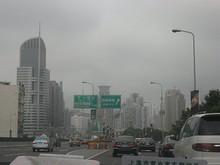 延安高架路 出口「西藏南路」