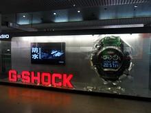G-SHOCKの目を引く広告