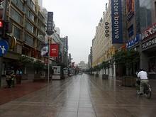 早朝の南京路