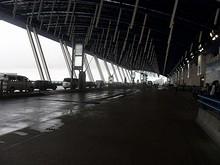 第一ターミナルの出発階