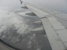 鹿島市上空