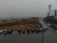 管制塔と駐機場