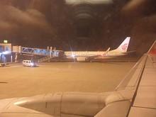 桂林空港に到着
