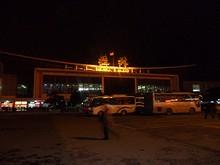 夜の桂林駅