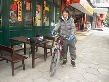 ドミトリーで会った自転車トラベラー