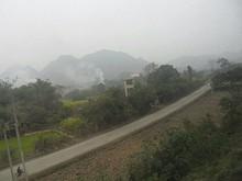 寧明県郊外