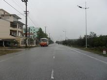 バスの終点付近