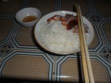 夕飯にコム(COM/ご飯)を食べる
