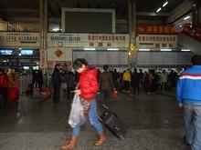 南寧の江南バスターミナル