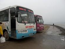 VINH THUC行きバス