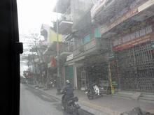 途中のCua Ongの町