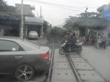 鉄道を越える