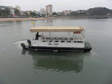 EMERAUDEのテンダーボート