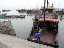 ハロン湾クルーズの船
