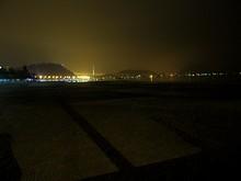 夜のビーチ