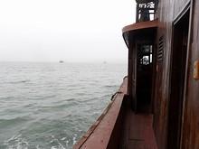 ボートの1階後部