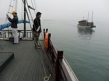 フンハン号上部甲板