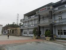 ターミナルの中の旅館