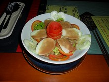 ベトナム風サラダを頼んでみた
