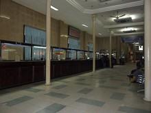 ハノイ駅切符売場