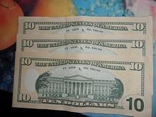 ドル札裏面