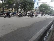 ベトナム名物バイクの集団