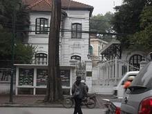 インド大使館正門