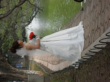 湖畔の結婚式