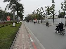 大使館のある通り
