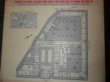 脱獄ルートの地図