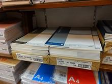 日本製のノートがある